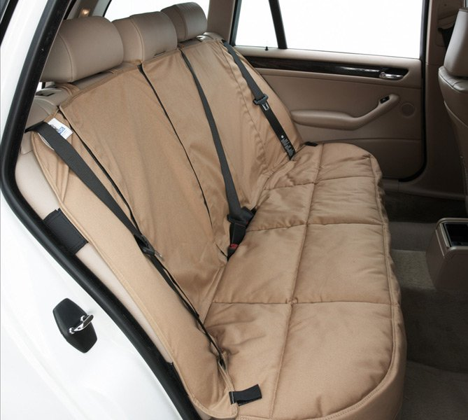 Canine Covers Custom Rear Seat Protector - Free Shipping