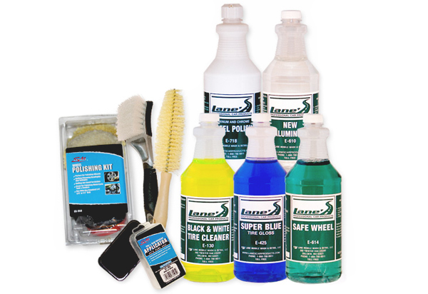 Lane's Ultimate Wheel Polishing & Tire Cleaning Kit