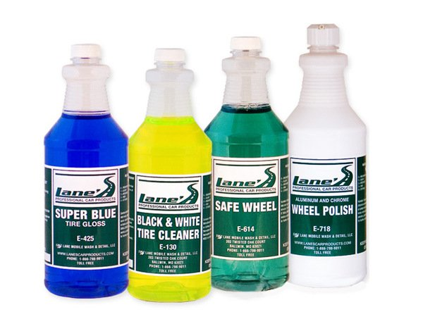 Lane's Chrome Wheel & Tire Cleaner Kit