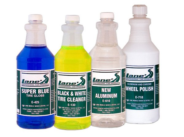 Lane's Aluminum Wheel & Tire Cleaner Kit