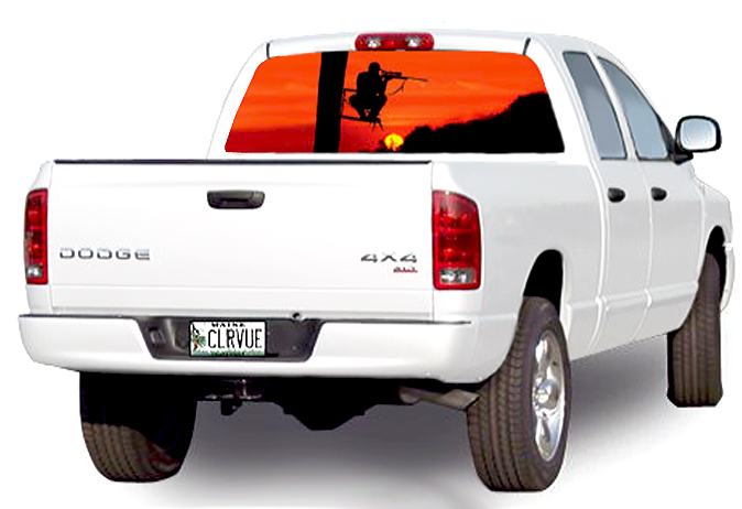 Duck Hunting Rear Window Graphics Best Wind Wallpaper HD - Rear window hunting decals for trucks