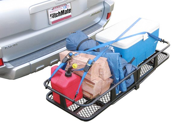 HitchMate Fold-Up Cargo Carrier
