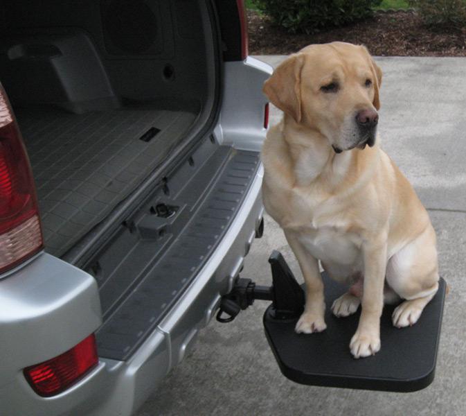 portablepet twistep dog step portablepet twistep pet step. Black Bedroom Furniture Sets. Home Design Ideas