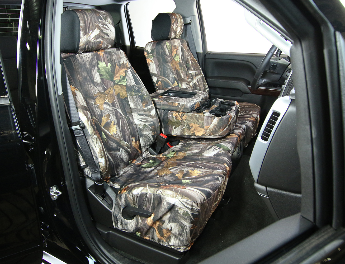 2001 2004 Toyota Tacoma Saddleman Camo Seat Covers