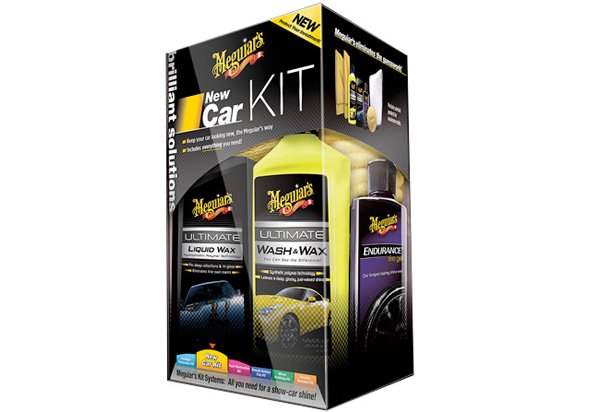 Meguiar's Brilliant Solutions New Car Kit