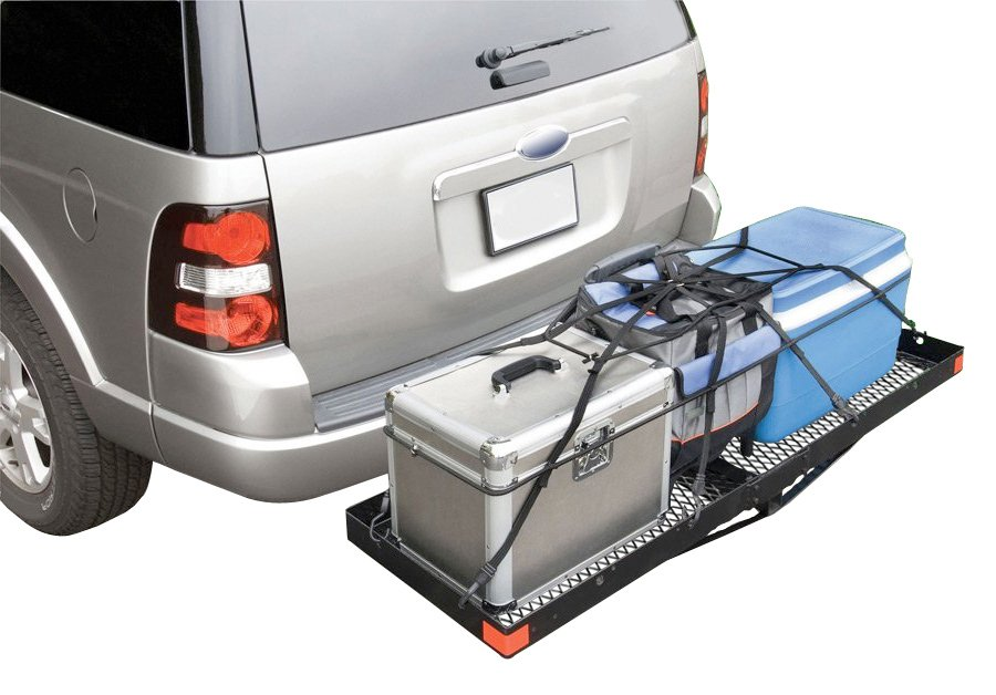 Highland Hitch Mounted Cargo Carrier Hitch Mount Cargo