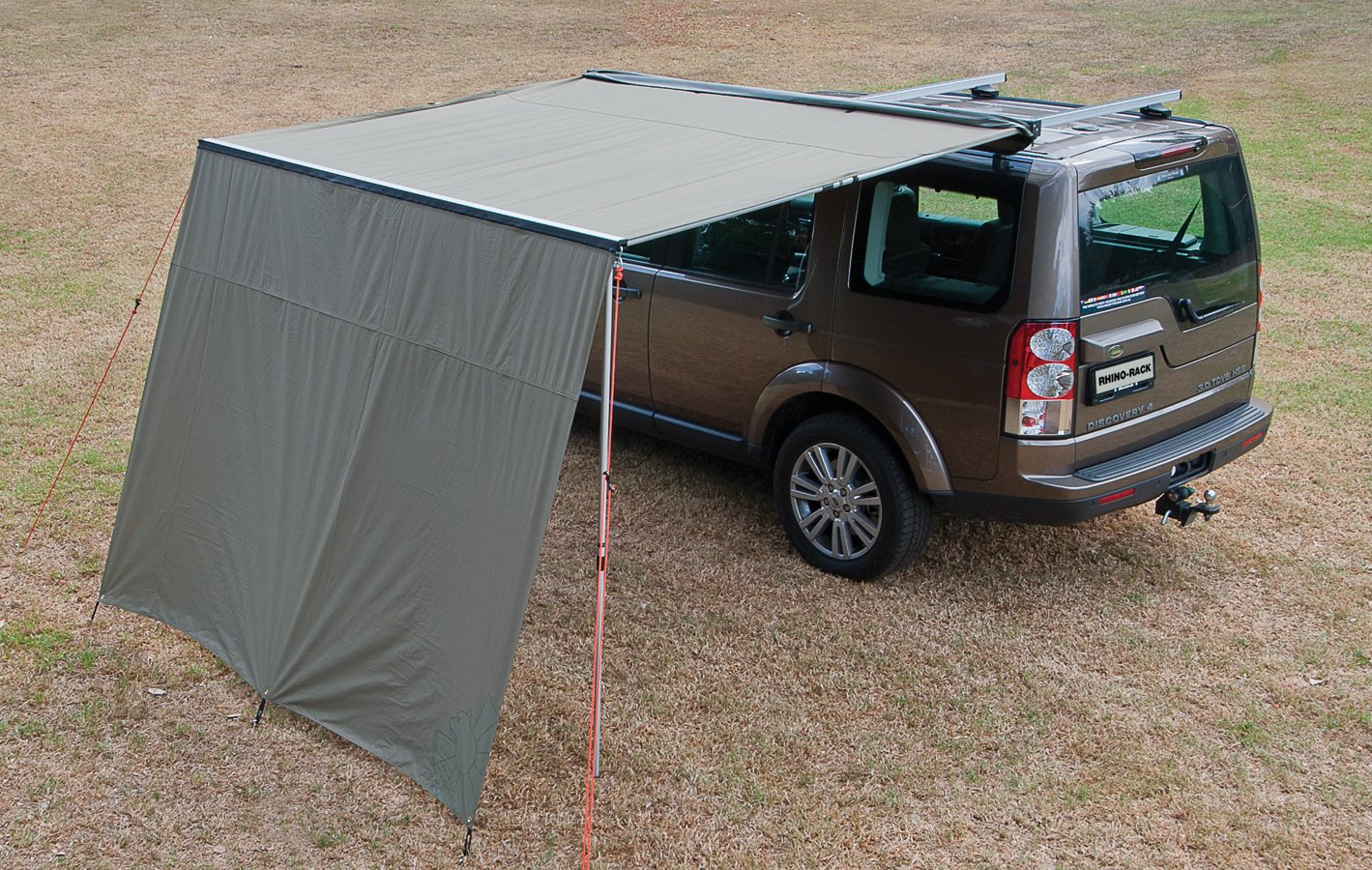 Awnings For Cars : Rhino rack foxwing canopy car awning
