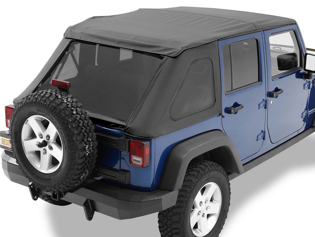 Bestop Trektop Nx Soft Top For Wrangler 56820 15 New