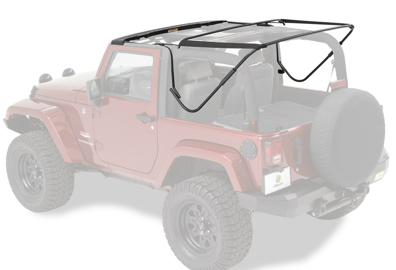 2007-2018 Jeep Wrangler Bestop Soft Top Hardware Replacement Kit ...
