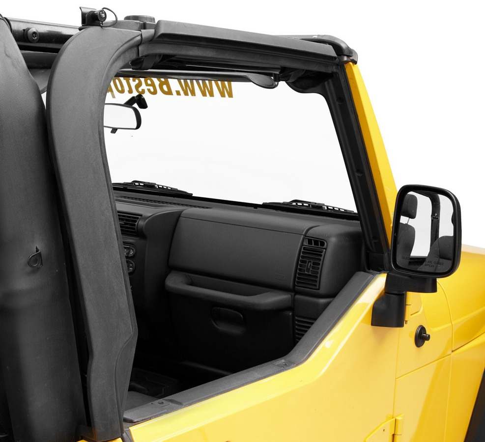 Bestop Door Surround Kit - Free Shipping on Jeep Wrangler Kits