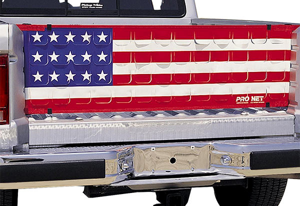 American Flag Tailgate Net Covercraft Pro Flow Truck Bed Net