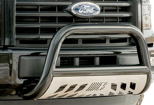 ORYX B3099LS Chrome Stainless Steel Bull Bar Fits Ford F-150 1997-2004