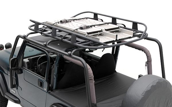 Jeep Wrangler Seat Covers >> 1997-2006 Jeep Wrangler Smittybilt SRC Roof Rack - Smittybilt 76713