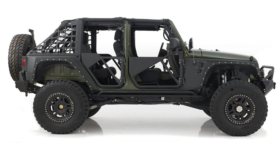 2007 2017 Jeep Wrangler Smittybilt Src Tubular Doors