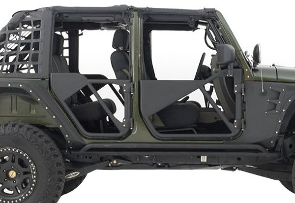 Smittybilt SRC Tubular Doors  sc 1 st  Auto Accessories Garage & Smittybilt SRC Tubular Doors - Jeep Wrangler Tube Doors Ship Free