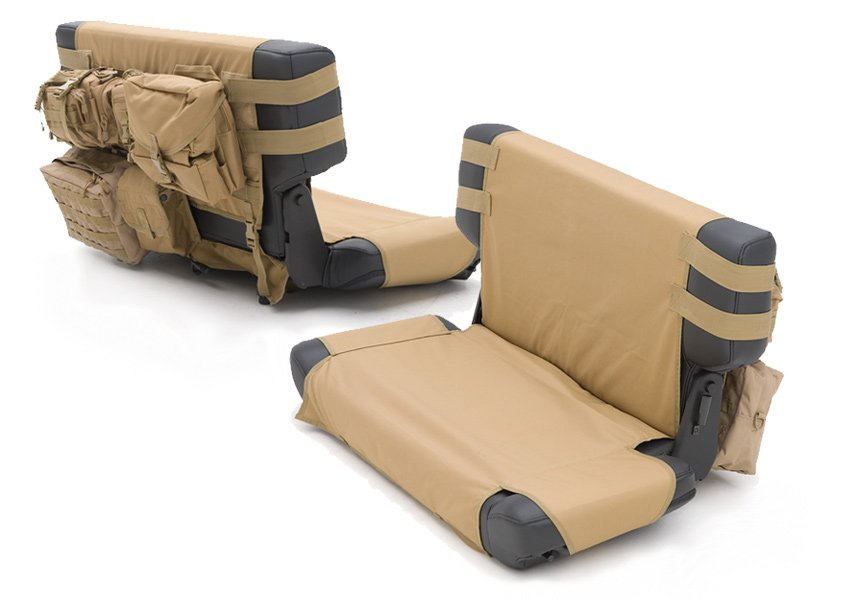 Front Seat Cover Coyote Tan Smittybilt GEAR