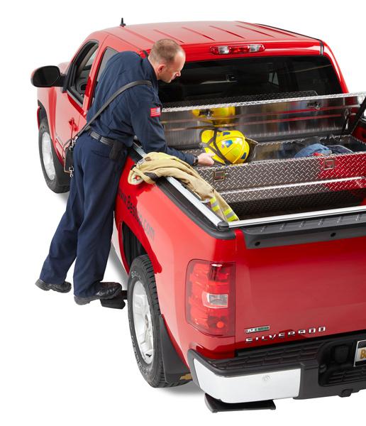 Bestop Powerboard Automatic Running Boards For Dodge Ram: 2002-2008 Dodge Ram 1500 Bestop TrekStep Truck Side Step