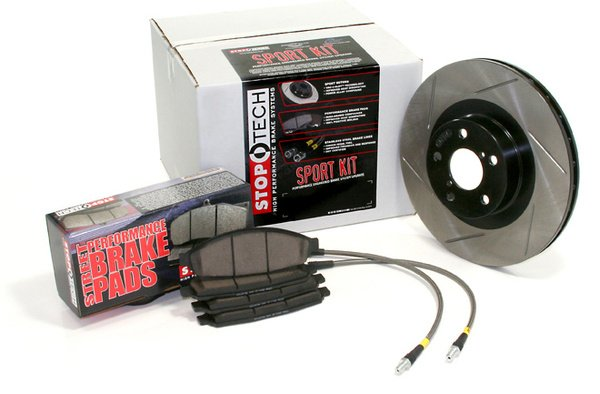 StopTech Brake Kit with Power Slot Rotors