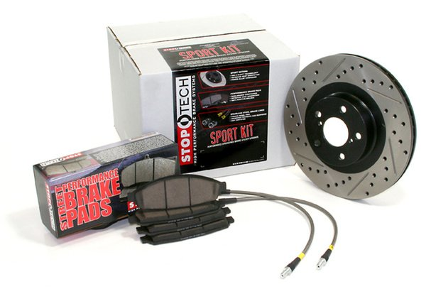 StopTech Brake Kit with Drilled & Slotted Rotors