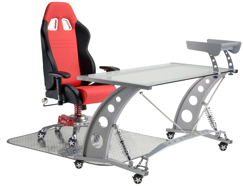 PitStop Furniture by Intro-Tech  sc 1 st  Auto Accessories Garage & PitStop Furniture by Intro-Tech - Automotive Office Chairs Ship Free