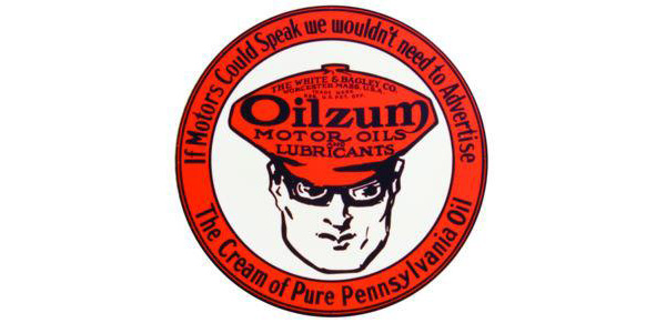 Oilzum Motor Oil Vintage Sign by SignPast