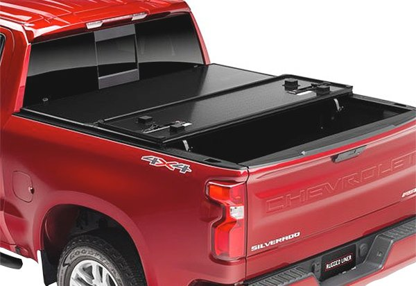 rugged hard folding tonneau cover - autoaccessoriesgarage