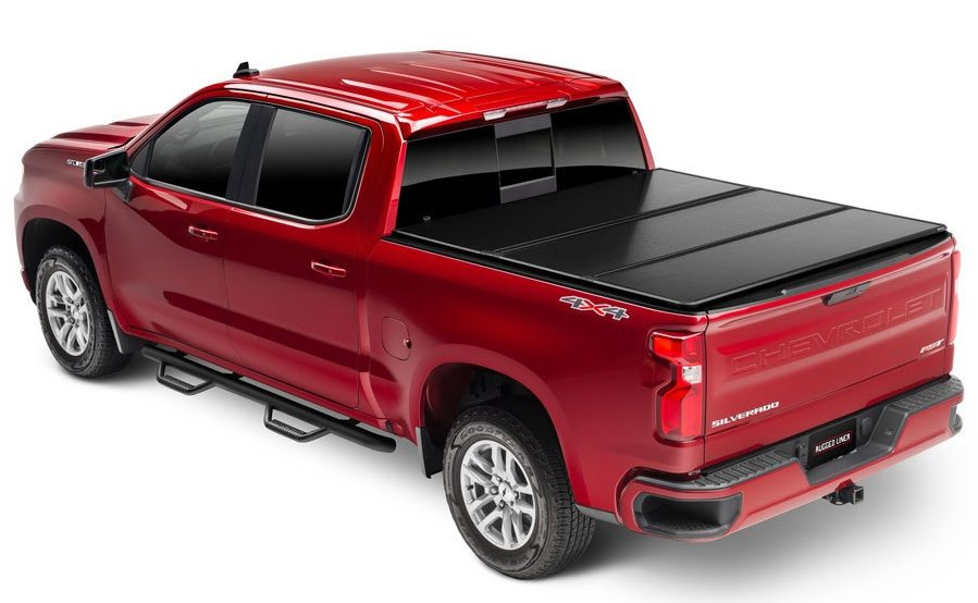 Rugged Hard Folding Tonneau Cover Autoaccessoriesgarage Com