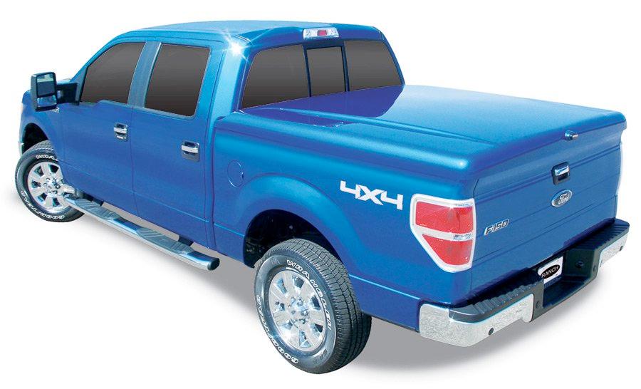 Hydraulic Tonneau Covers : Ranch legacy tonneau cover fiberglass truck bed