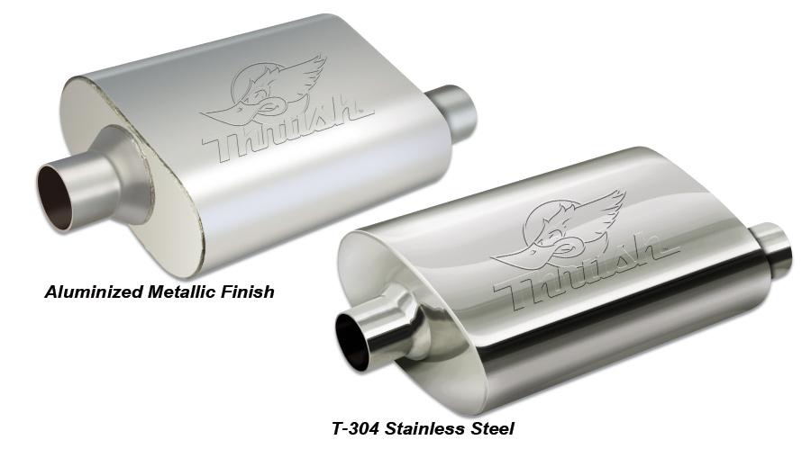 Thrush Welded Muffler Thrush Welded Steel Muscle Car Muffler