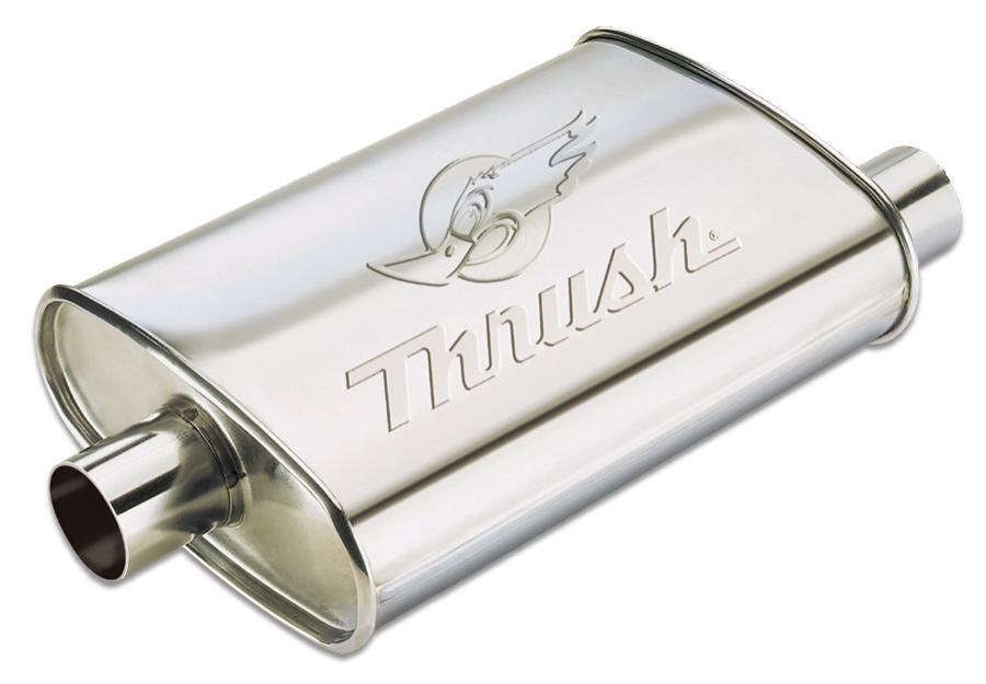 Hush Thrush Muffler Hush Thrush Super Turbo Mufflers