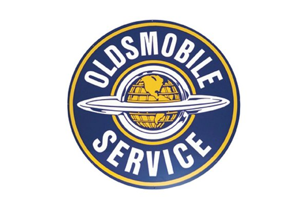 Oldsmobile Vintage Sign by SignPast