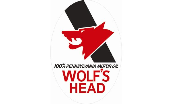 Wolf's Head Oil Vintage Sign by SignPast