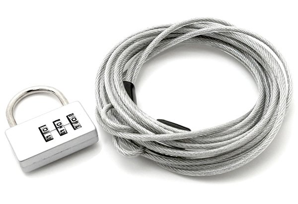 Coverking Lock and Cable