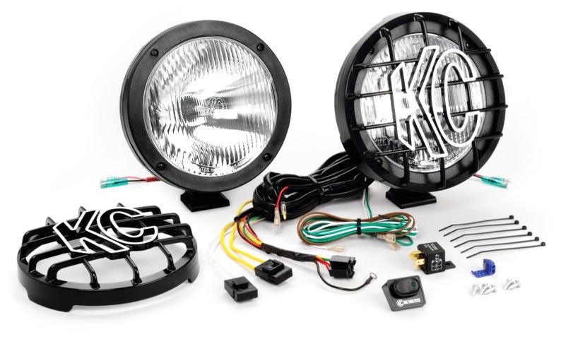 KC Hilites Internal Ballast HID Light Kit on