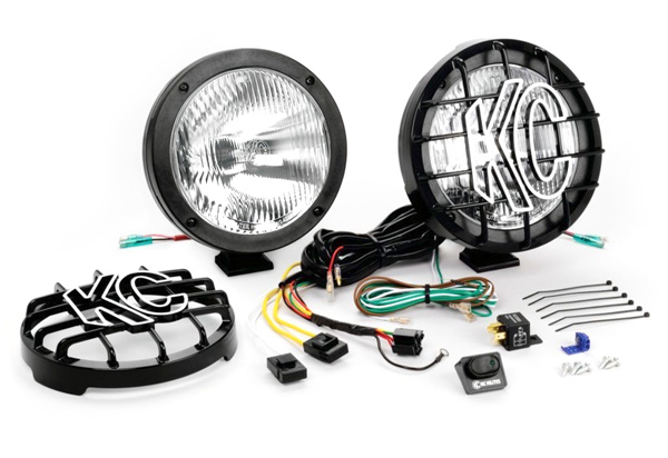 KC Hilites Internal Ballast HID Light Kit
