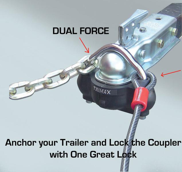Trimax Trailer Lock Trimax Coupler Lock