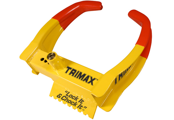Trimax Trailer Wheel Chock Lock
