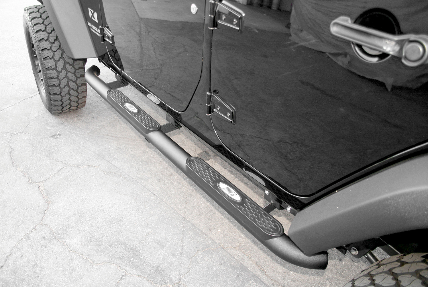 Aries Pro Series Nerf Bars, Aries Pro Series Side Step Bars