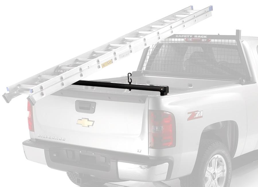 Custom Aluminum Truck Ladder Rack