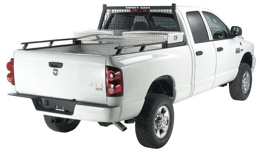 Jeep With Truck Bed >> 2004-2014 Ford F150 Backrack Siderails - Backrack 80512TB