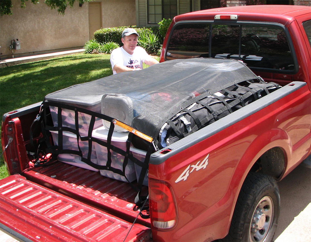 Truck Bed Cargo Net >> Gladiator SafetyWeb Cargo Net - Free Shipping on Truck Nets