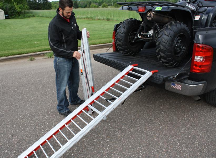 Rush Ramps Rush Packable Truck Bed Amp Atv Ramps