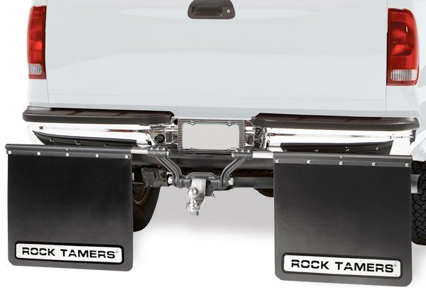 Rock Tamers Mud Flaps Rock Tamers Towing Mud Guard System