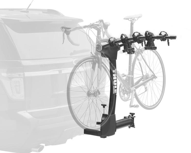 Jeep Wrangler Bike Rack >> Thule Vertex Swing Away Hitch Bike Rack - Swinging Mount ...