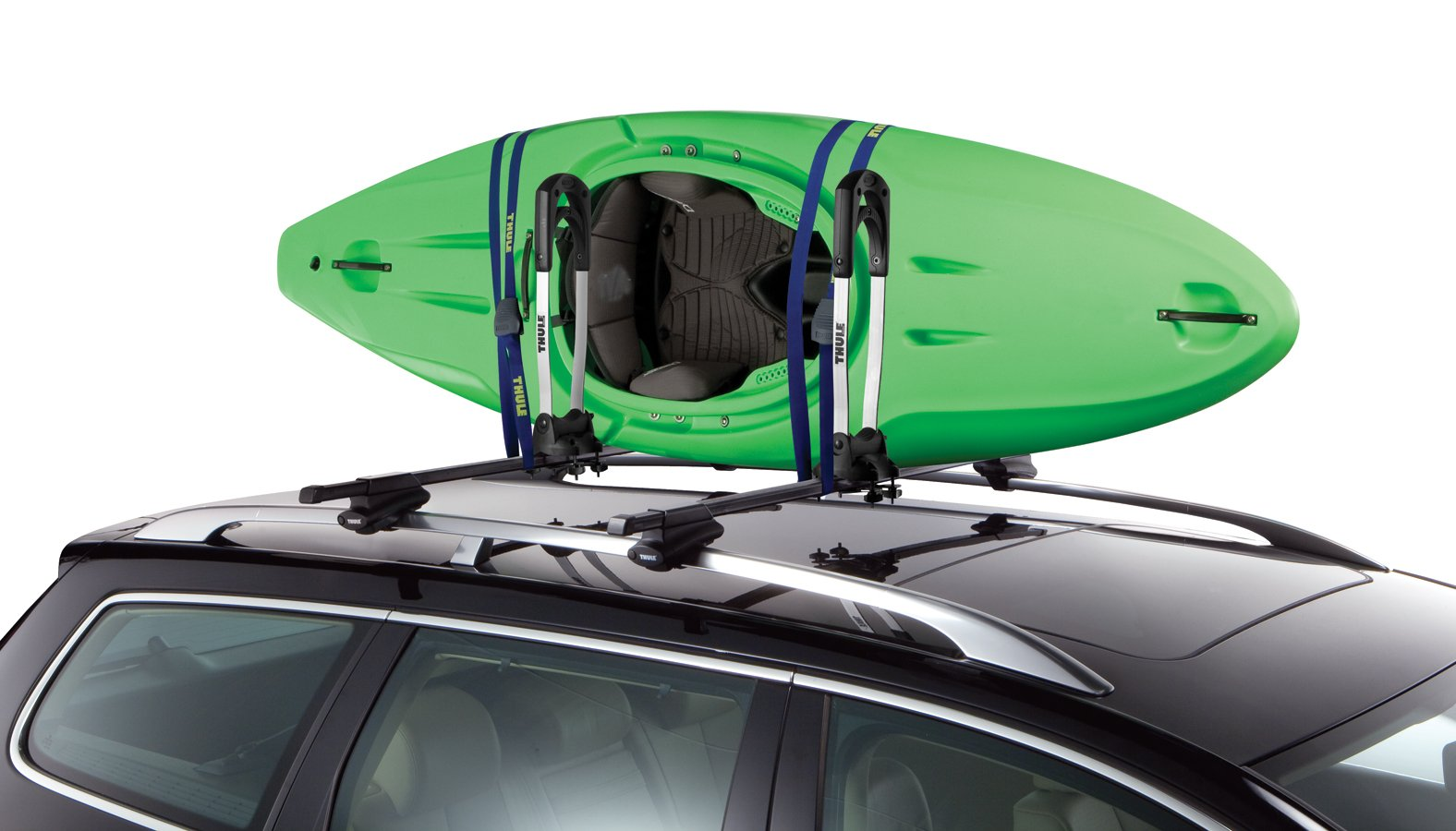 youtube kayak slipstream watch roof mount carrier thule rack