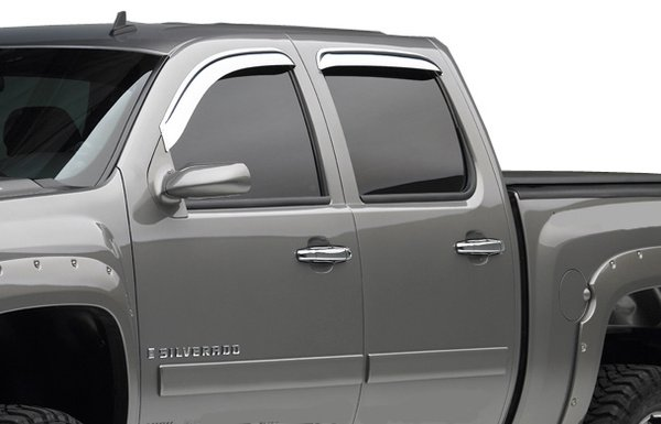 EGR Chrome Window Deflectors