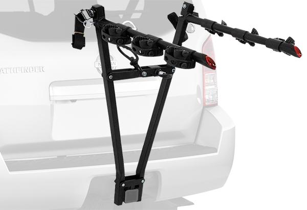 bike rack clamp curt hitch racks snow shipping mount wheel fast
