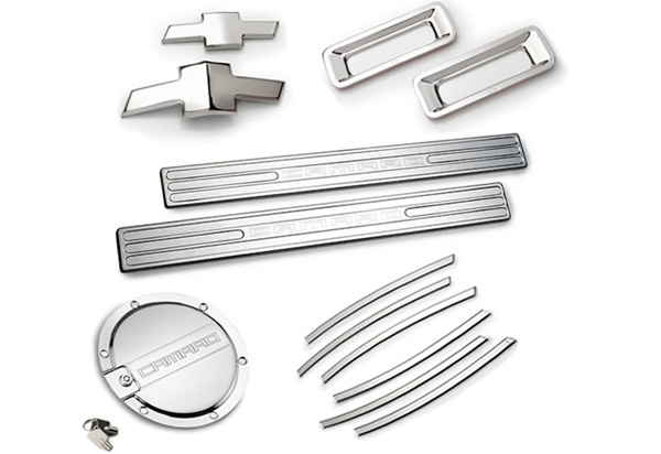 DefenderWorx Complete Chrome Trim Kit