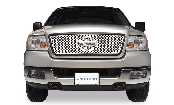 Putco Harley Davidson Bar & Shield Punch Grille