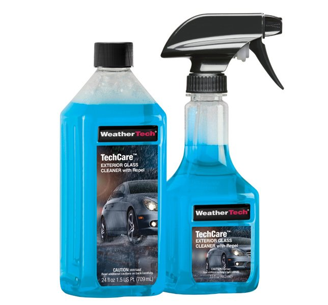 Weathertech Techcare Exterior Glass Cleaner With Repel For Cars Trucks